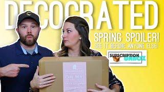 Decocrated - Exclusive Spring Spoiler 2019!