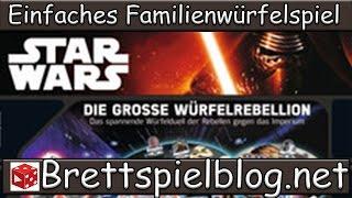 Test: Star Wars: Die grosse Würfelrebellion - Ravensburger // Brettspielblog.net