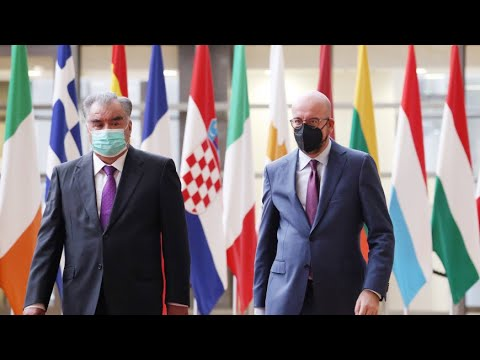 Рахмон обсудил в Брюсселе сотрудничество Таджикистана со странами Евросоюза
