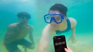 تحدي الاختباء تحت المسبح