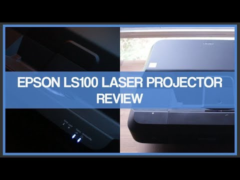 Epson Home Cinema LS100 Laser Projector – Review