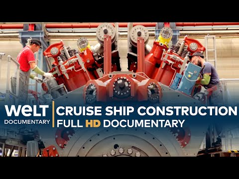 The Construction Of A Cruise Ship - AIDAnova | Full Documentary