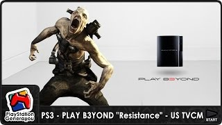 "PlayStation 3 - PLAY B3YOND ""Resistance"" - US TV Commercial (2006)"