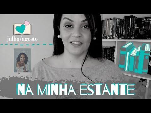 NA MINHA ESTANTE | LIVRO LIDOS EM JULHO E AGOSTO/2020