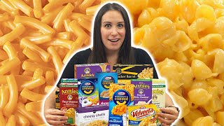 We TRY Every Boxed MAC & CHEESE 🧀in Our Grocery Store