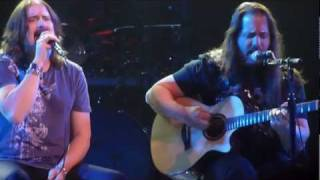 Dream Theater - The Silent Man live (acoustic) - Glasgow 2012