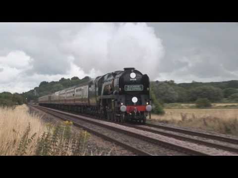 Highlights of British steam on the main line 2011
