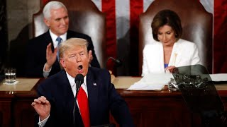 U.S. President Donald Trump delivers third state of the union address