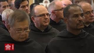 Papa Francesco agli agostiniani: testimoniate la carità calda della Chiesa