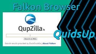 Failed look at Falkon KDE Snap Browser