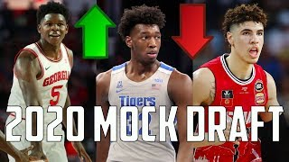 2020 NBA Mock Draft 3.0: New Number 1 Pick?