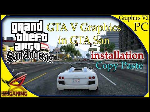 Gta San Andreas High Graphic Mod 2018 Download Link Technical Boy Rishab