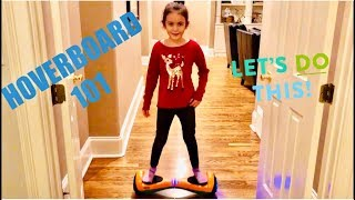 KIDS HOVERBOARD 101 | HOW TO RIDE HOVERBOARD SAFELY  FROM A 7-YEAR OLD | BY GOTRAX