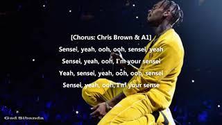 Chris Brown ft A1 -Sensei(Lyrics)