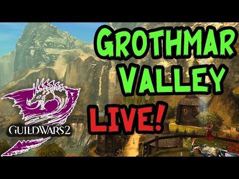 Guild Wars 2 - Grothmar Valley achievementy a dojmy