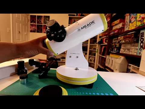 Meade – Eclispeview™ 82mm Reflecting Telescope – Unboxing