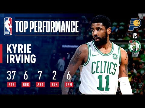 ffcd3225b7eb Kyrie Irving ELECTRIFIES The Boston Crowd in Game 2