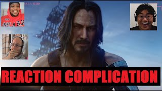 Streamers and YouTubers reacts to Keanu Reeves in Cyberpunk 2077 | Reaction