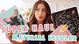 HAUL MATERIAL ESCOLAR + ¡¡¡SORTEO!!! || Lalia Benchelef