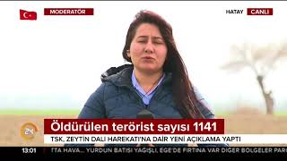 afrinde çldürülen terörist sayısı 1141 oldu