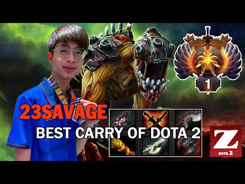 MONSTER LIFESTEALER Carry By 23SAVAGE - RANK 1 SEA SERVER GAME DOTA 2