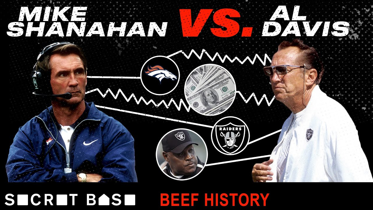 Al Davis was cheap, Mike Shanahan was petty, and their beef was a decade-long delight thumbnail