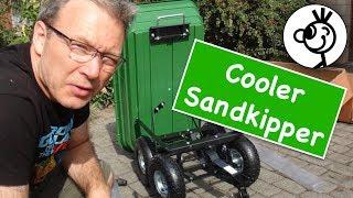 Bollerwagen, Kippwagen oder Sandkipper - Tips zur Montage