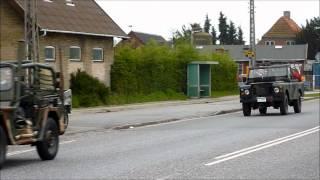 preview picture of video 'Del 1 af 2. Dansk Militærhistorisk Køretøjs-Forening. Kortege fra Amager til København.'
