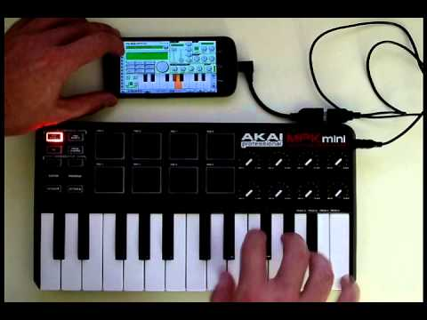 Using A MIDI Controller With Caustic 2.1 On Android Mp3