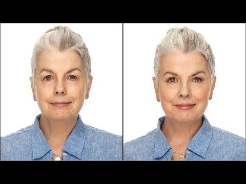 Fresh Faced Makeup for Older Women on a Budget