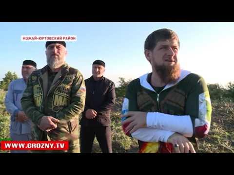 Рамзан Кадыров посетил Ножай-Юртовский район, готовящийся стать центром туризма