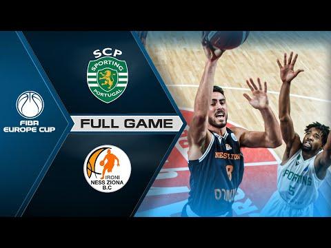 Sporting CP v Ironi Ness Ziona - FIBA Europe Cup 2...