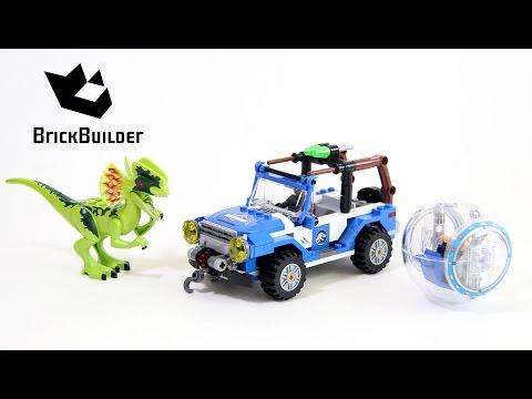 Vidéo LEGO Jurassic World 75916 : L'embuscade du Dilophosaure