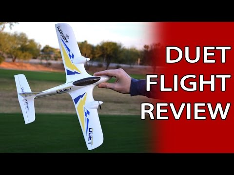 Duet Flight Review – Super Cool Easy To Fly Mini RC Plane