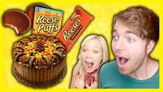 GIANT REESES CAKE!