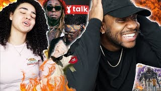 "WHY TF THEY SPAZZ LIKE THAT?!? | T Pain   ""Goat Talk"" Ft. Lil Wayne (Official Audio) [REACTION]"