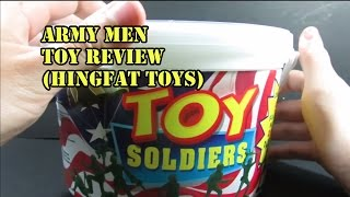 Army Men Toy Review (Hing Fat Toys)