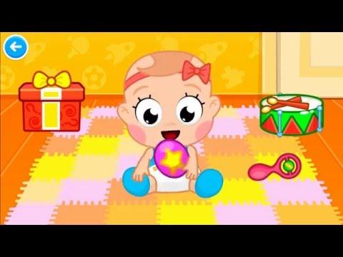 Vídeo do cuidados com o bebê: bebê jogo