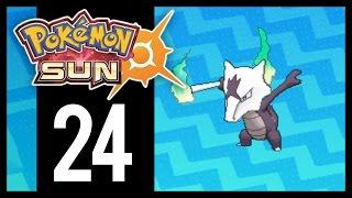 Pokemon Sun and Moon - Gameplay Walkthrough Part 24 - Alolan Marowak (3DS)