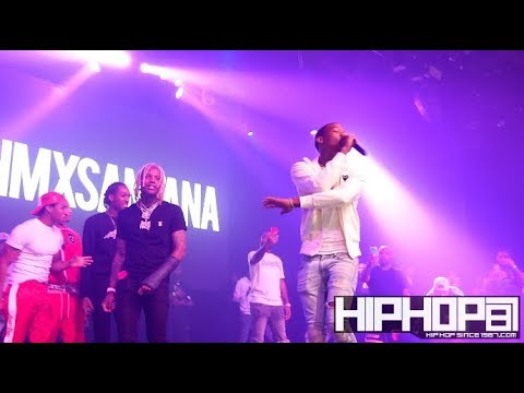 """Lil Durk Brings Out SimXSantana To Perform """"Flexin N Flashin"""" in Philly!!"""
