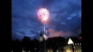 preview picture of video '2014-06-17 Hochzeit im Schloss Waidhofen a.d. Ybbs | risingfire® Feuerwerk'
