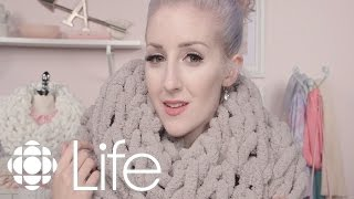 DIY: Chunky Knit Scarves   ALB In Wonderland   CBC Life