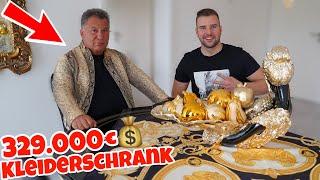 DER 329.000€ KLEIDERSCHRANK von MILLIARDEN MIKE 🔥| LION