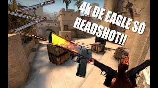 4K DE EAGLE SÓ COM HEADSHOT - MM RUMO AO GLOBAL - Acesse vreecase.com