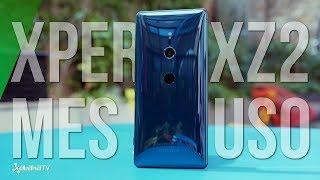 Sony Xperia XZ2 tras mes de uso: AVANZANDO hacia algo bueno