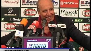 INTERVISTA GIAN PIERO VENTURA DOPO GARA SALERNITANA - FROSINONE