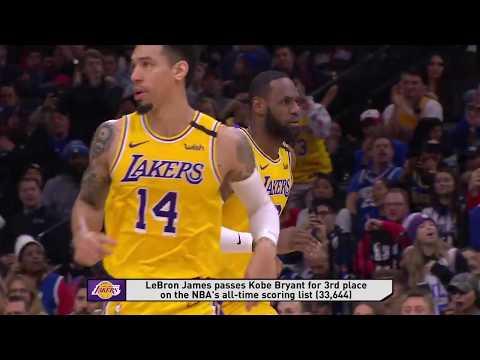 Philadelphia 76ers vs Los Angeles Lakers | January 25, 2020