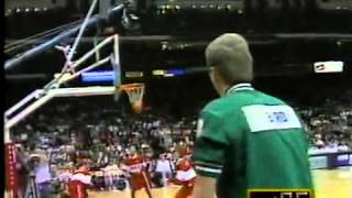 Larry Birds Legendary Moment In The Three Point Shootout