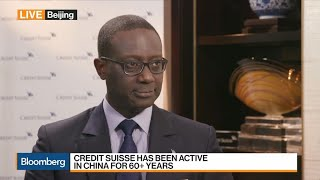 Credit Suisse's Thiam on China Strategy, Wealth Management, Trade Tensions