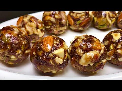व्रत मैं बनाये बिना चीनी के पौष्टिक मखाने के लड्डू   Makhane ke Laddu   No Sugar HealthyLaddu recipe